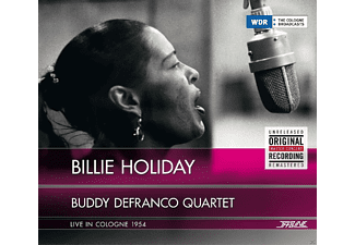 Billie Holiday, Buddy Quartet Defranco - Billie Holiday & Buddy Defranco Quartet - Live In Cologne 1954 - (CD)