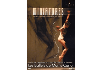 Les Ballets De Monte - Carlo - Miniatures [DVD + Video Album]