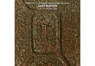 Gary Burton - Seven Songs For Quartet And Chamber Orchestra - (Vinyl)