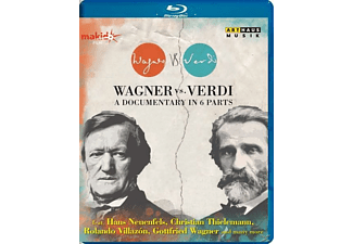VARIOUS - Wagner Vs. Verdi [Blu-ray]