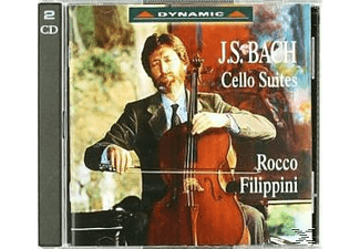 Rocco Filippini - Six Suites for solo cello - (CD)