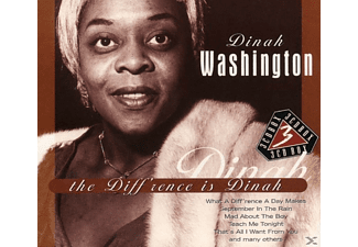 Dinah Washington - The Diff'Rence Is Dinah - (CD)