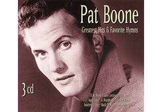 Pat Boone - Greatest Hits & Favorite Hymns - (CD)