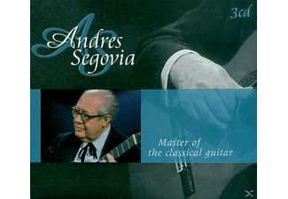 Andrés Segovia - Master of the classical guitar - (CD)