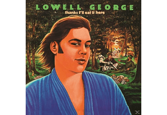 Lowell George - Thanks I'll Eat It Here - (Vinyl)