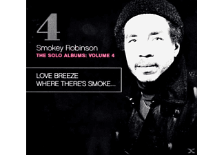 Smokey Robinson - Love Breeze/Where There's Smoke... [CD]