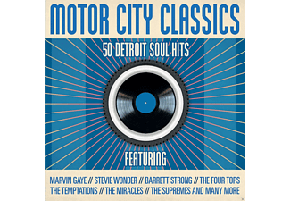 VARIOUS - Motor City Classics - 50 Detroit Soul Hits [CD]