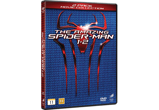 The Amazing Spiderman 1+2 Box Action DVD