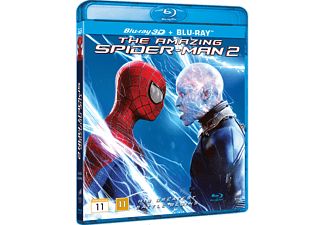 The Amazing Spider-Man 2 Action Blu-ray 3D