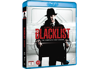 The Blacklist S1 Thriller Blu-ray