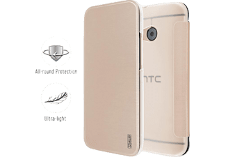 4555-1216 SmartJacket® Bookcover HTC One mini 2 Polyurethan Gold