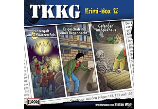 Tkkg - TKKG-Krimi-Box 12 - (CD)