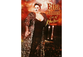 Etta James - LIVE AT MONTREUX 1993 - (DVD)