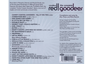 The Goodees - Condition Red!-The Complete Goodees - (CD)