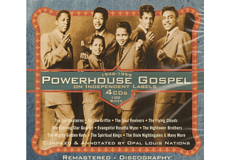 VARIOUS - Powerhouse Gospel On Independant Labels - (CD)