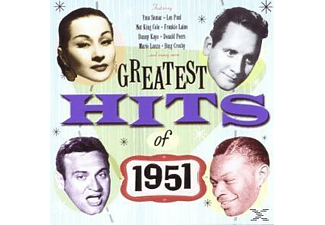 VARIOUS - Greatest Hits Of 1951 [CD]