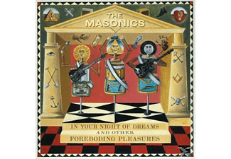 The Masonics - In Your Night Of Dreams... [CD]