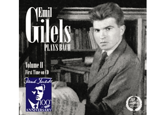 Emil Gilels (pno) - Gilels plays Bach - (CD)