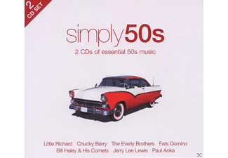 VARIOUS - Simply 50s (2cd) [CD]