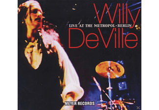 Willy Deville - Live At The Metropol-Berlin - (CD)