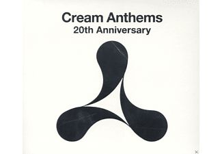 VARIOUS - Cream Anthems - 20th Anniversary - (CD)