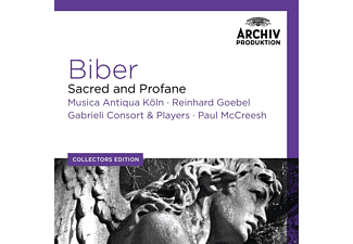 Reinhard Goebel, Gabrieli Consort & Players, Musica Antiqua Köln, Paul Mccreesh - Biber: Sacred And Profane [CD]