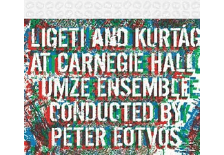 Peter Umze Chamber Ensemble & Eötvös, Umze Chamber Ensemble - Ligeti And Kurtág At Carnegie Hall - (CD)
