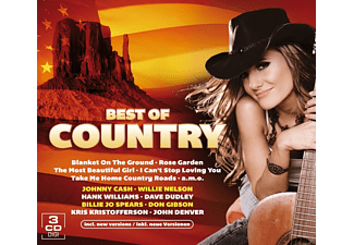 VARIOUS - Best Of Country (3 CD Box) - (CD)