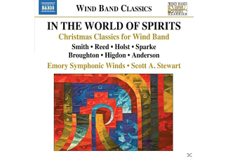 Scott A. Stewart, Emory Symphonic Winds - In The World Of Spirits - (CD)
