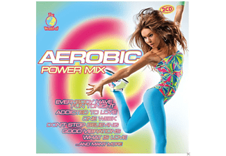 VARIOUS - W.O.AEROBIC POWER MIX [CD]
