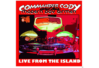 Commander Cody & His Modern Day Airmen - Live From The Island - (CD)