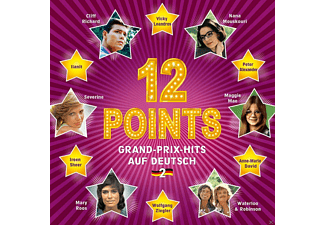 VARIOUS - 12 Points / Grand-Prix-Hits Auf Deutsch Vol.2 [CD]