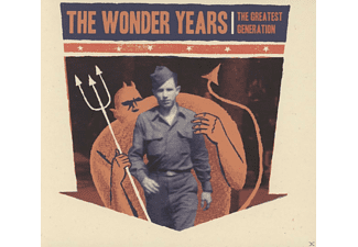 The Wonder Years - The Greatest Generation - (CD)
