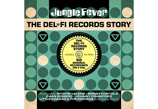 VARIOUS - Jungle Fever-Del-Fi Records Story - (CD)