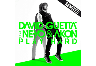 David Guetta, Akon, Ne-Yo - Play Hard (Remixes) - (Maxi Single CD)