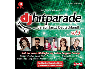 VARIOUS - Dj Hitparade Vol.3 - (CD)