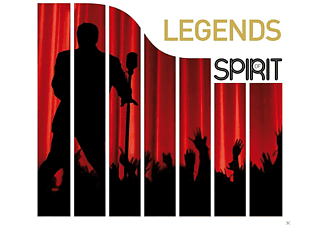VARIOUS - Spirit Of Legends - (CD)