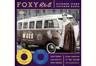 VARIOUS - Foxy R&B - Richard Stamz Chicago Blues [CD]