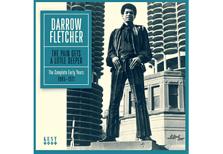 Darrow Fletcher - The Pain Gets A Little Deeper - The Complete Early - (CD)