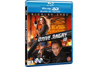 Drive Angry Action Blu-ray 3D