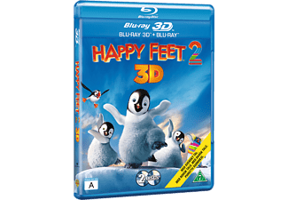 Happy Feet 2 Äventyr Blu-ray 3D