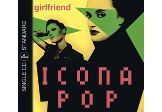 Icona Pop - Girlfriend - (5 Zoll Single CD (2-Track))