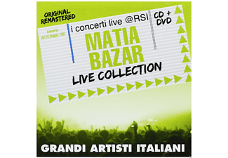 Matia Bazar - Live Collection - (CD + DVD)