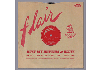 VARIOUS - Dust My Rhythm & Blues-Flair Records R&B Story 195 [CD]
