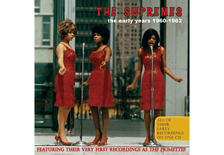 The Supremes - The Early Years 1960-1962 - (CD)