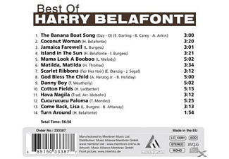 Harry Belafonte - Best Of Harry Belafonte - (CD)