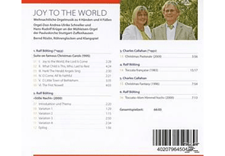 Andrea-Ulrike Schneller, Hans-Rudolf Krüger, Bernd Röslin - Joy To The World - (CD)