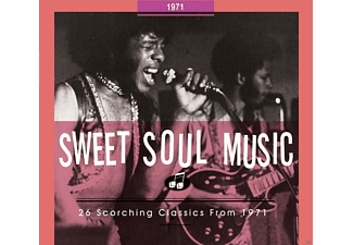 VARIOUS - Sweet Soul Music-26 Scorching Classics From 1971 - (CD)