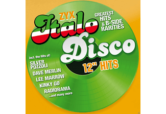 "VARIOUS - Zyx Italo Disco 12"" Hits - (CD)"