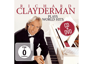 Richard Clayderman - Plays World Hits - (CD + DVD)